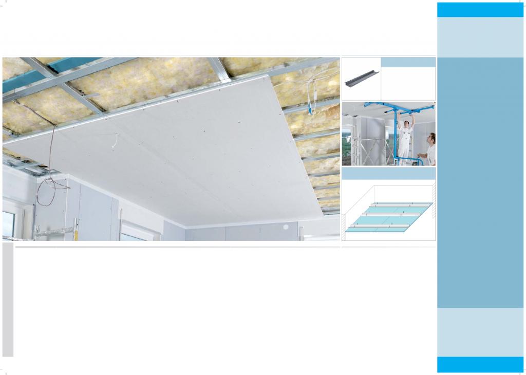 Techo placa de yeso aislamientos techos placas - Placas de yeso para techos ...